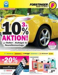 Forstinger Angebote- Sonax, WIZZY, AREXONS (Autopflegeprodukte)