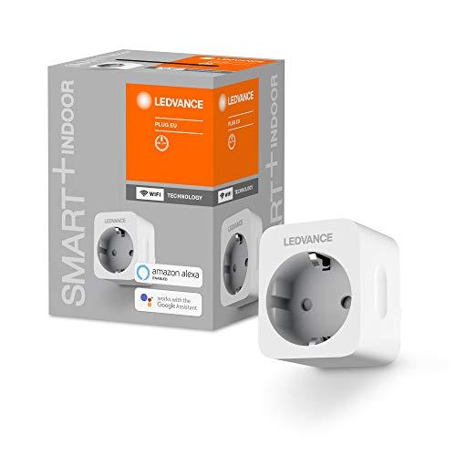 Ledvance Smart+ Schaltbare Steckdose für WiFi, mit Strom Vermessung