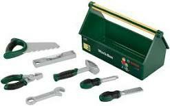 -- Amazon -- Theo Klein 8573 Bosch Werkzeug-Box I 7-teiliges Werkzeug-Set I