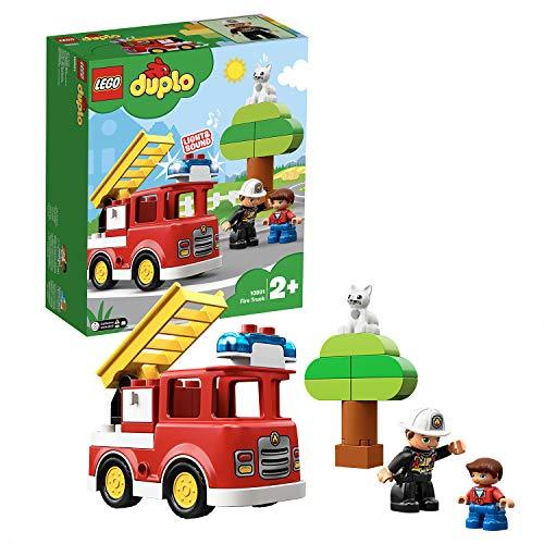 LEGO 10901 DUPLO Feuerwehrauto mit Feuerwehrmann-Figur