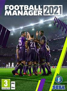 Football Manager 2021 PC DVD