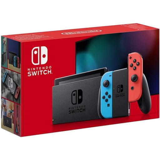 LIBRO, Verfügbar Nintendo Switch, neon rot/blau (neue Edition)