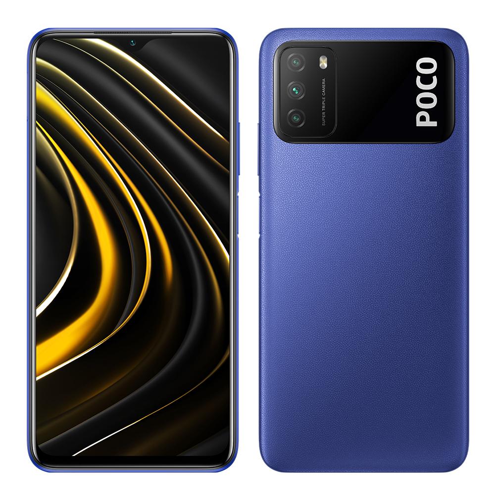 Xiaomi Poco M3, 64GB od. 128GB, schwarz od. blau