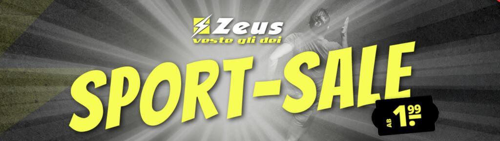 Zeus Sale mit z.b. Fitness Matte, Sonnenbrillen & Basketball Shorts