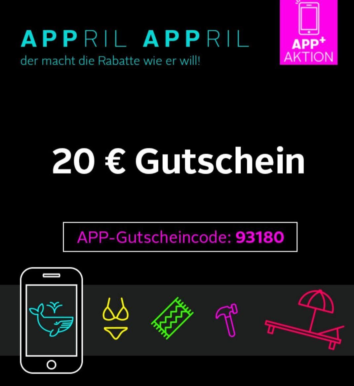 € 20,- Rabatt in der Otto App