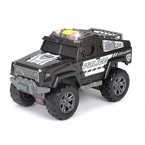 Dickie Toys 203304011 - Action Series Police Unit, Polizeiauto, Offroadauto mit Motor, mit Licht- und Soundfunktion, 20cm