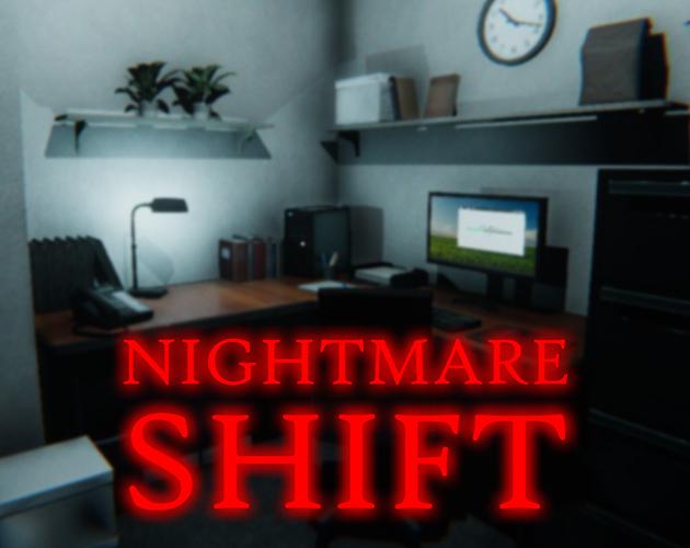 """""""Nightmare Shift"""" für kurze Zeit gratis Horror PC Spiel bei """"itch.io"""" anstatt 2,00 Euro"""