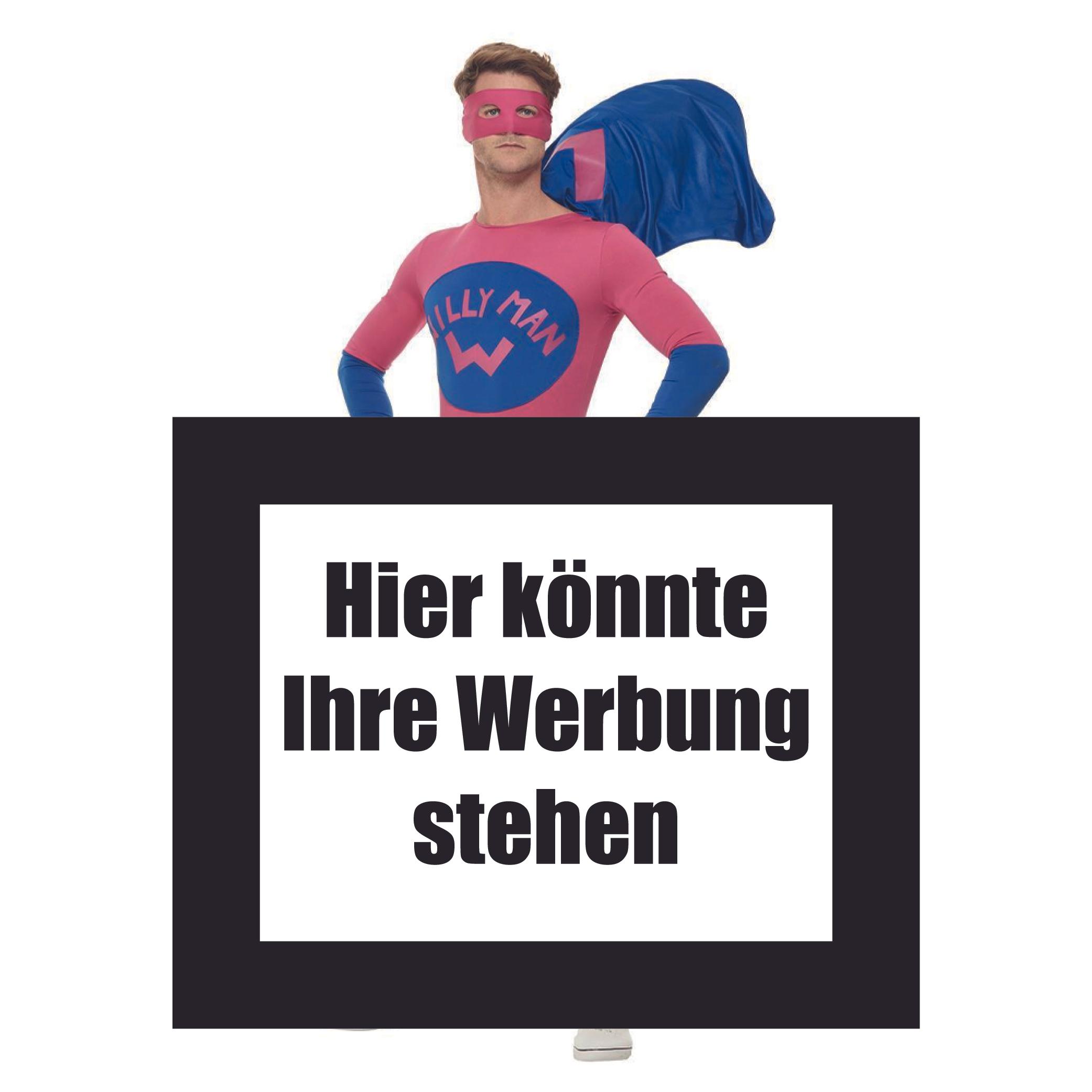 Smiffys Willyman Superhelden-Kostüm in XL