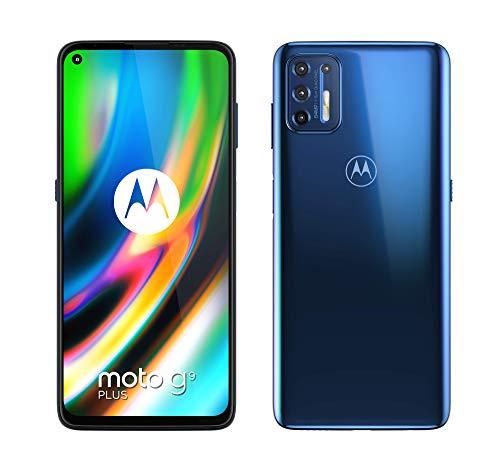 Motorola Moto G9 Plus Dual-SIM, navy blue
