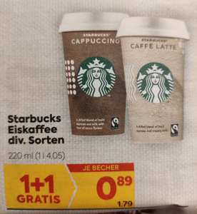 Starbucks Eiskaffee Becher