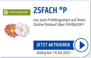 25 FACH PAYBACK Punkte bei Yves Rocher