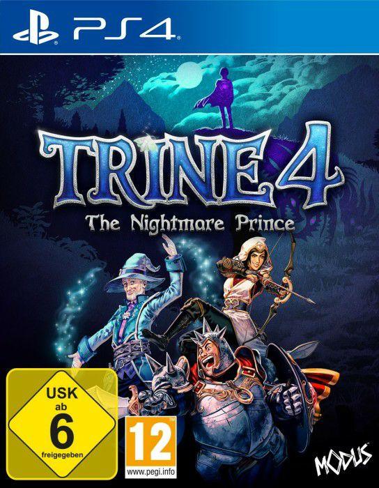 Trine 4 für die PS4 um € 13,10!