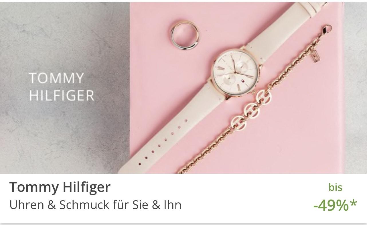 Tommy Hilfiger Uhren & Schmuck - bis zu -49%