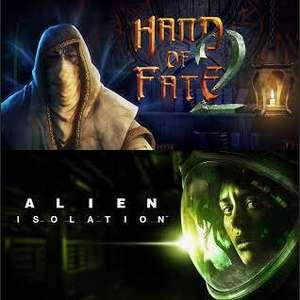 Hand of Fate 2 & Alien Isolation (PC) (22.4-29.4)