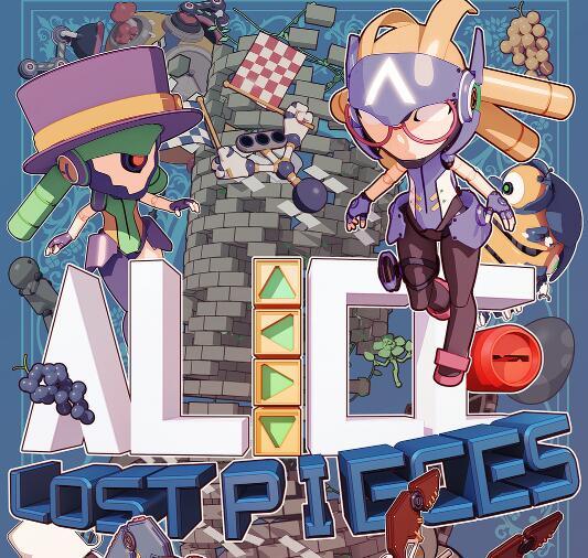 """""""Alice: Lost Pieces"""" (Android) gratis im Google PlayStore - ohne Werbung / ohne InApp-Käufe -"""