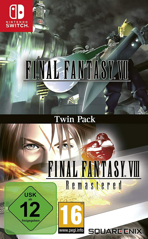 Final Fantasy VII & Final Fantasy VIII Twin Pack für die Nintendo Switch um € 27,22