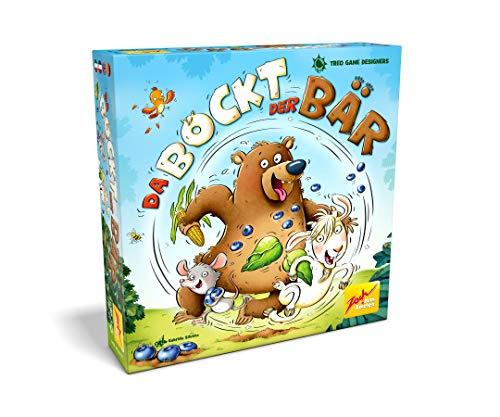 Zoch 601105132 - Da bockt der Bär Würfelwettrennspiel