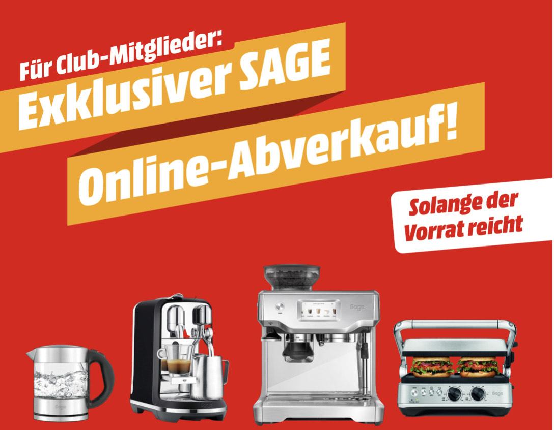 SAGE Online Abverkauf (Media Markt)