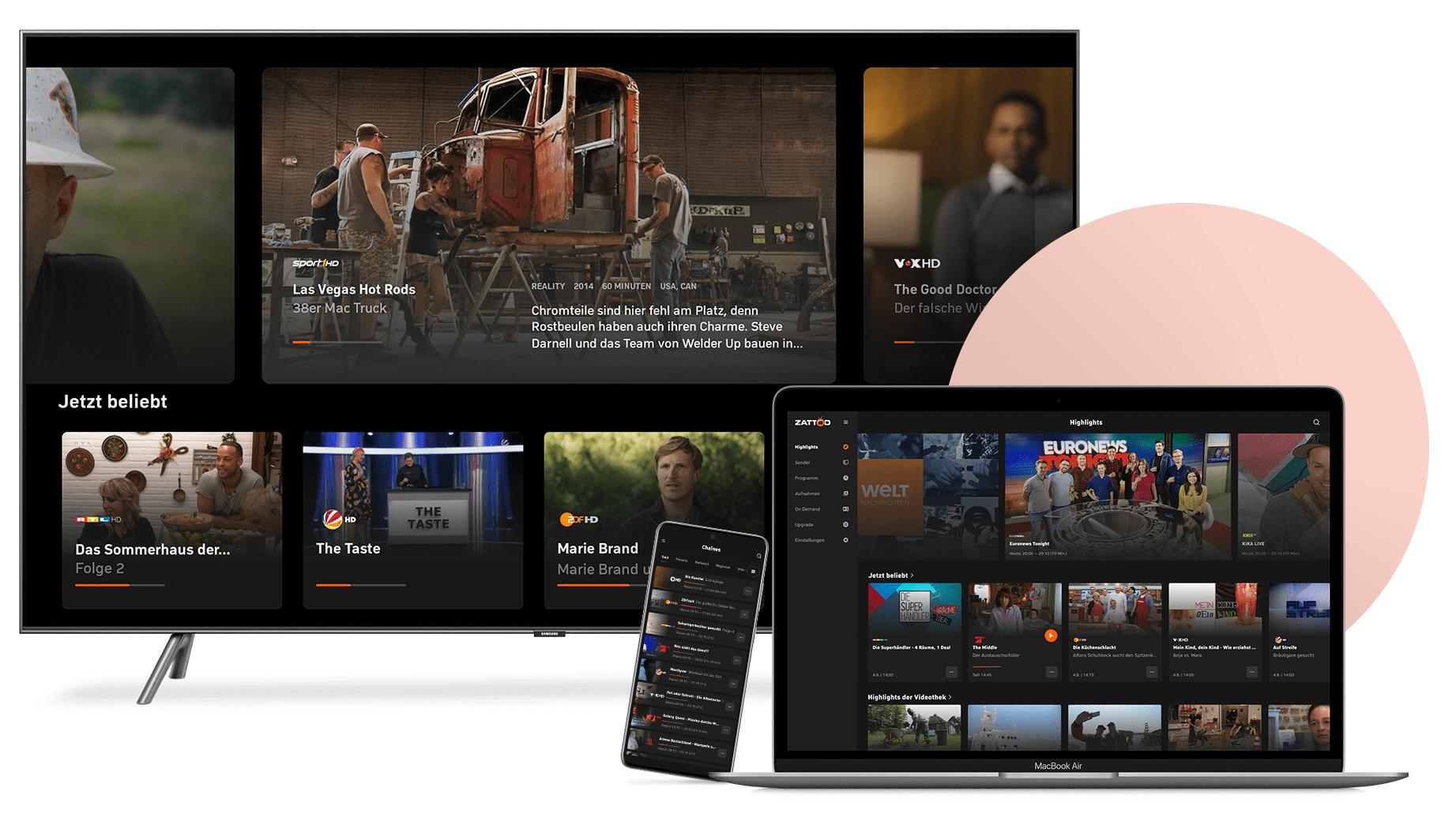 Ein Bäumchen für jeden neuen Gratismonat! TV Streaming Angebot!