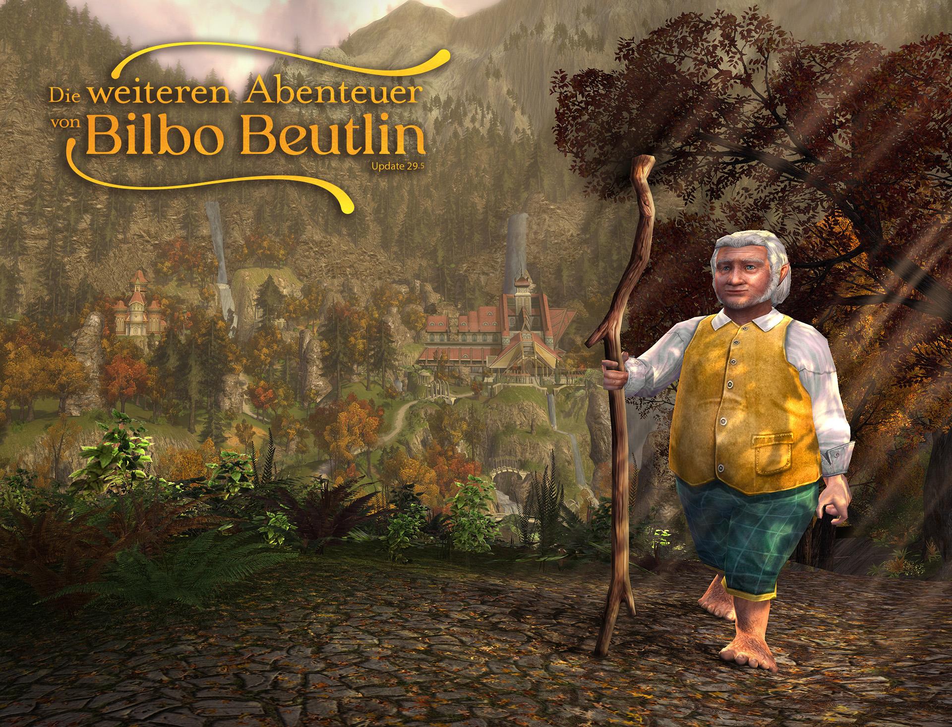 """""""Die weiteren Abenteuer von Bilbo Beutlin"""" (Windows / MAC PC) kostenlos für ´Der Herr der Ringe Online´"""