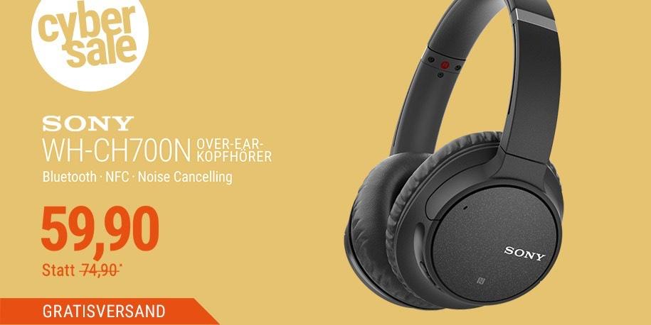Sony WH-CH700N Over Ear Kopfhörer kabellos bei Cyberport