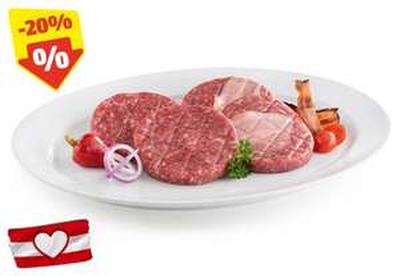 Burger Aktion bei Hofer