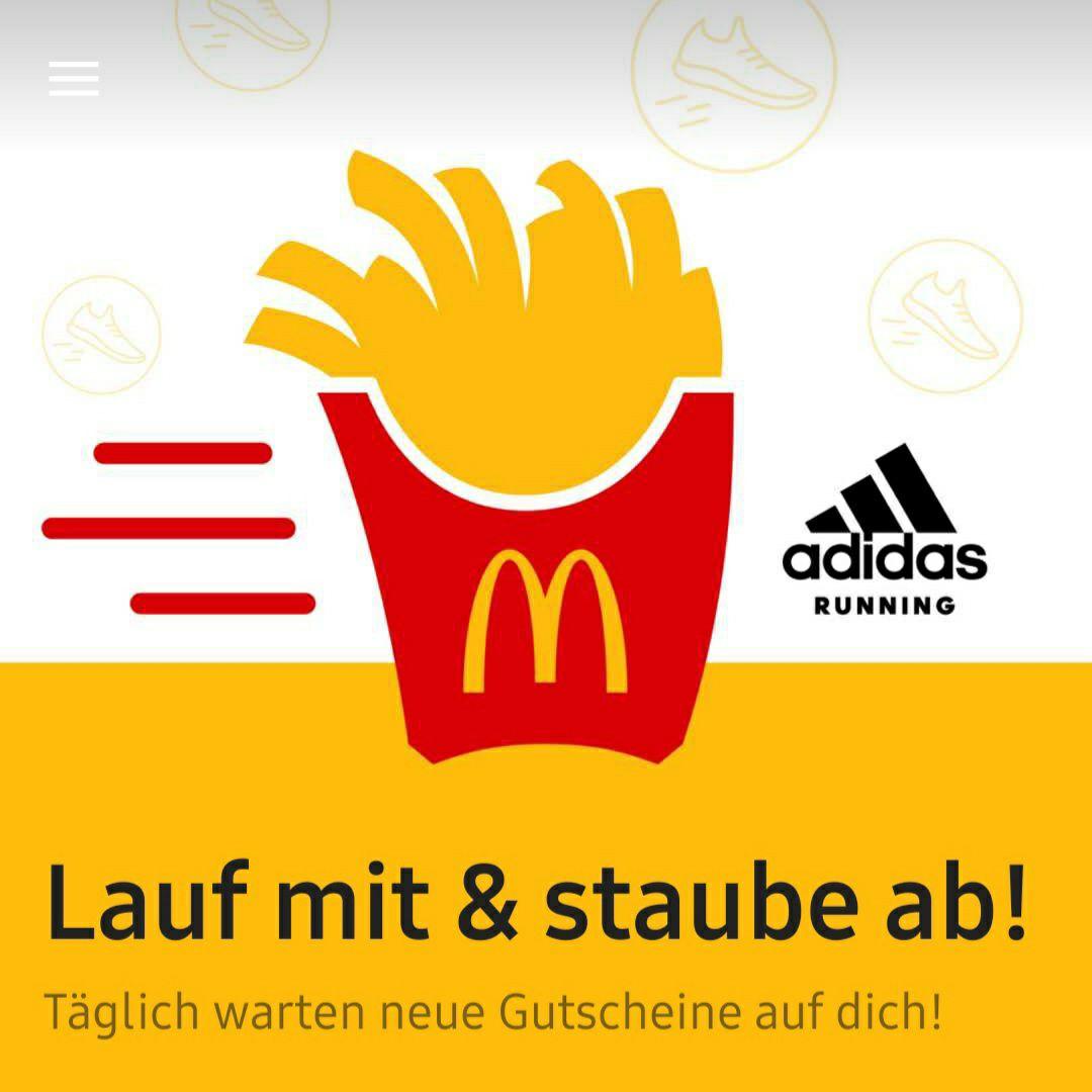 [McDonalds App] Mitlaufen und abstauben