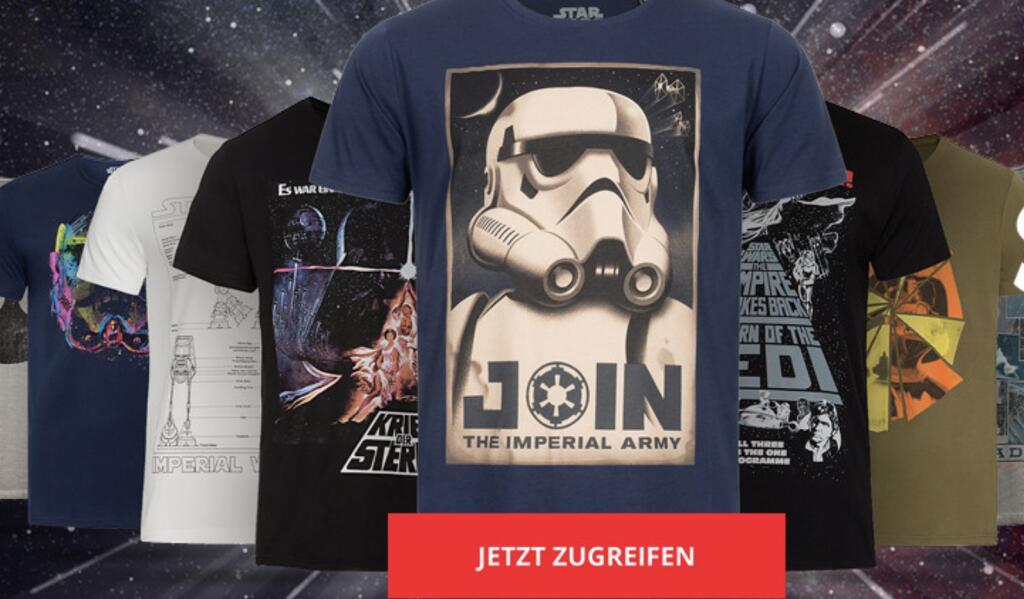 Gozoo Star Wars T-Shirt Sale mit vielen Motiven