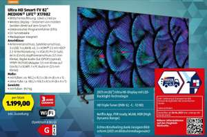"Ultra HD Smart-TV 82"" MEDION® LIFE® X17882"