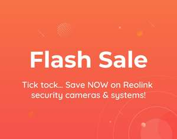 Flash Sale bei Reolink bis 23:59 heute