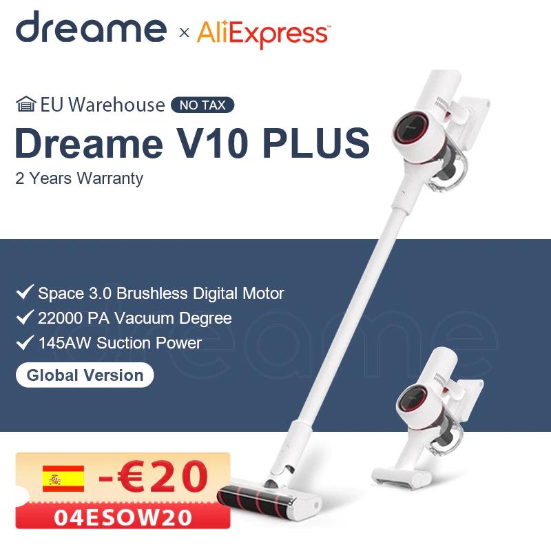 Dreame V10 Plus Akku Handstaubsauger EU-Versand