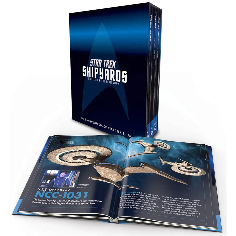 Star Trek Shipyards: Starfleet and the Federation Hardcover Box Set
