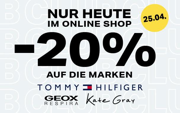 20% auf diverse Marken bei Humanic