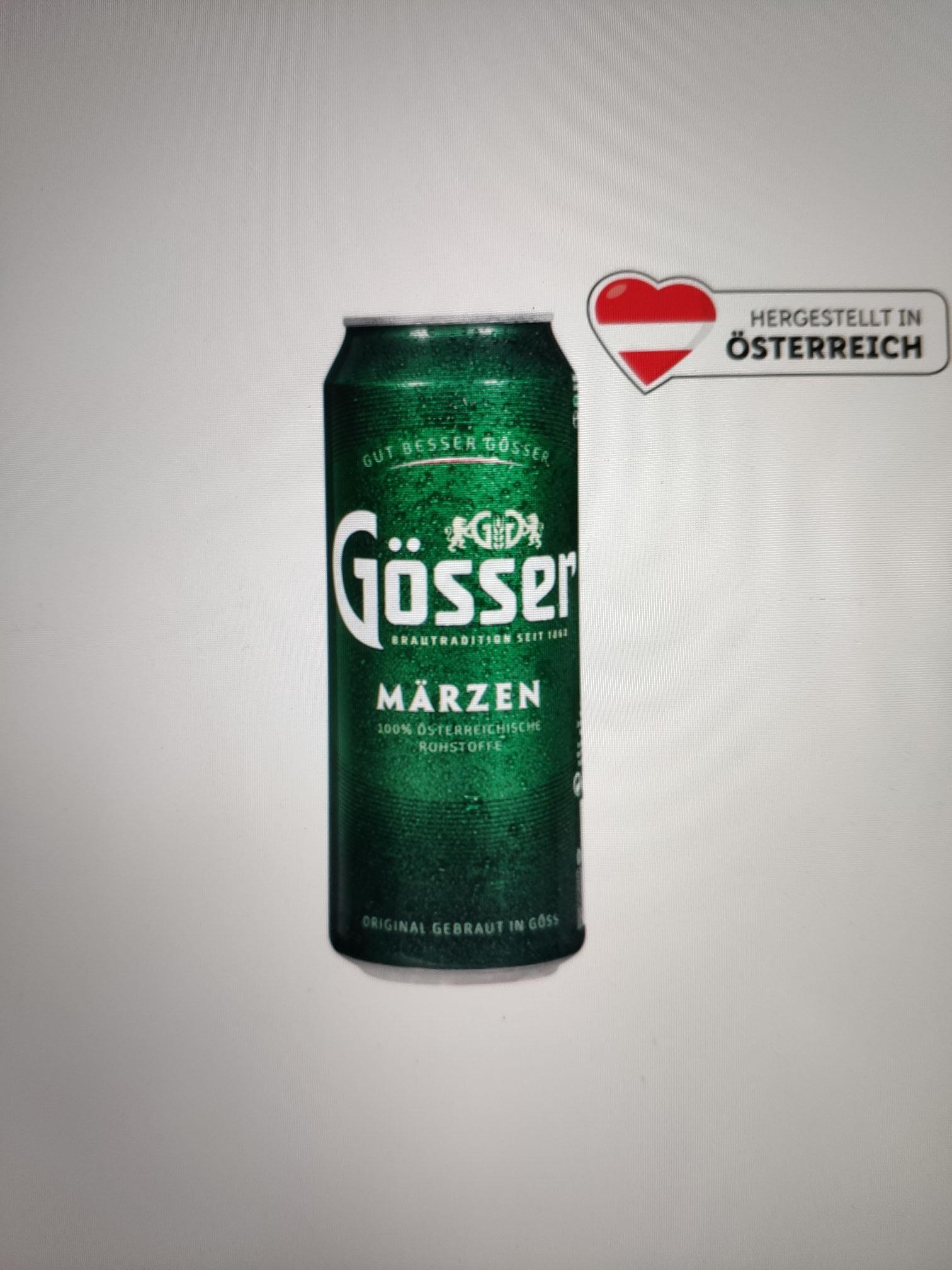 Gösser Märzen Bier 0,5l