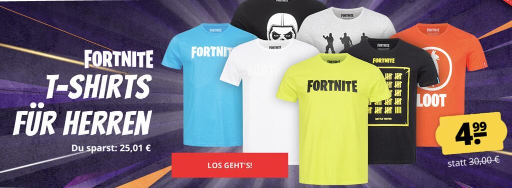 Fortnite Lama Kapuzen Hoodie Gr: S - XXL oder T-Shirts um 4,99€