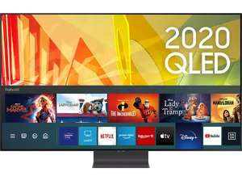 "Samsung ""QE85Q95T"" 85 Zoll 4K QLED TV - neuer Bestpreis - Gästeklo-Award"