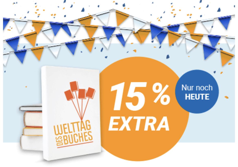 Momox: 15% mehr Erlös ab 25 € Einsendungen