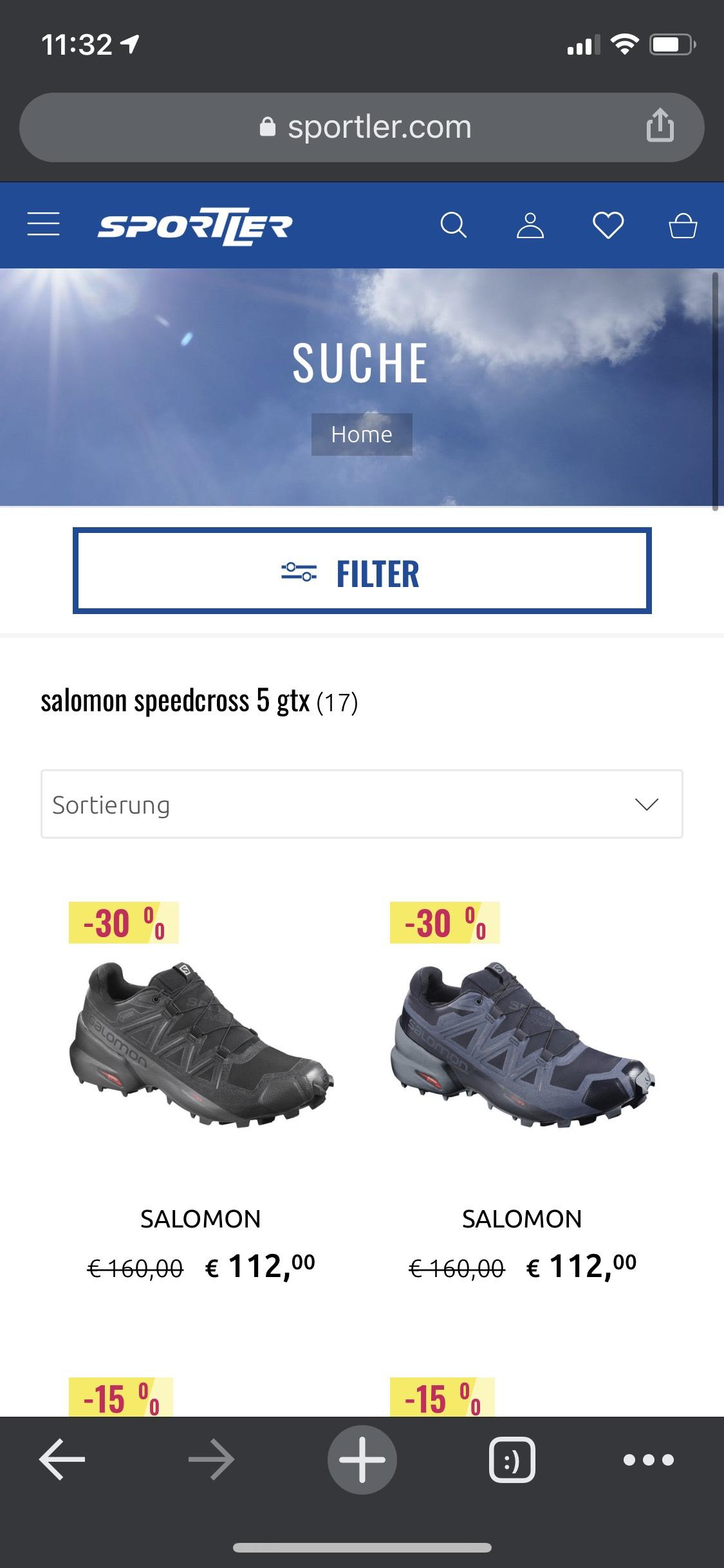 15-30% im sportler.com onlineshop