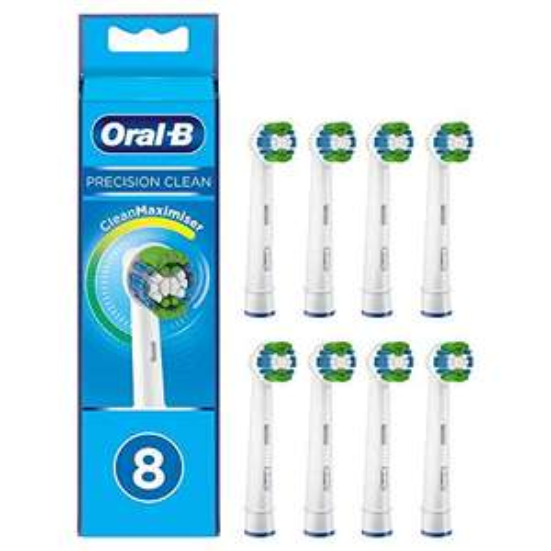 [Amazon.de] Oral-b 8 Stk. Aufsteckbürsten Precision Clean mit Clean Maximiser