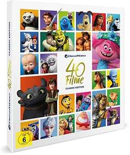 Dreamworks Classics Komplettbox - 40 Filme [40 DVDs]