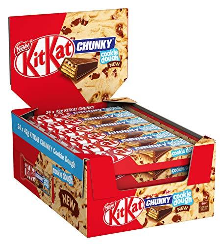 24 Stück Nestlé KitKat ChunKy Cookie Dough bzw Classic