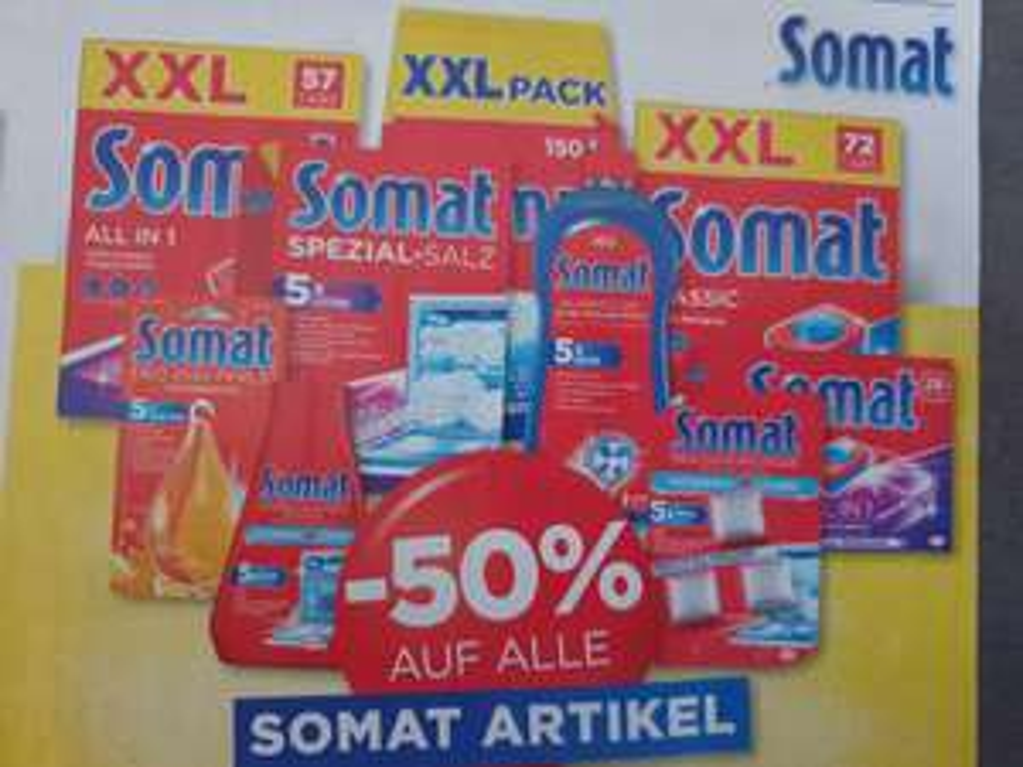 -50% auf ALLE SOMAT Artikel beim Unimarkt