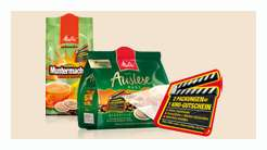 Melitta-Aktion: 1 Kino-Gutschein & 2x Kaffee Pads für ~3€