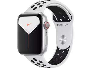 Apple Watch Nike Series 5 (GPS + Cellular) 44mm Aluminium silber