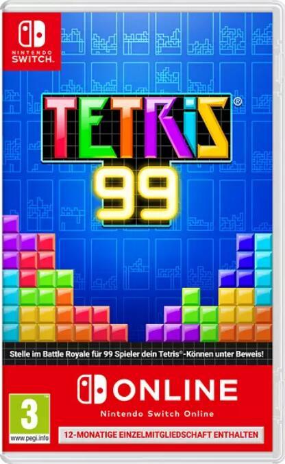 """""""Tetris 99 + 1 Jahr Nintendo Switch Online Einzelmitgliedschaft"""" (Nintendo Switch) bei Media Markt"""