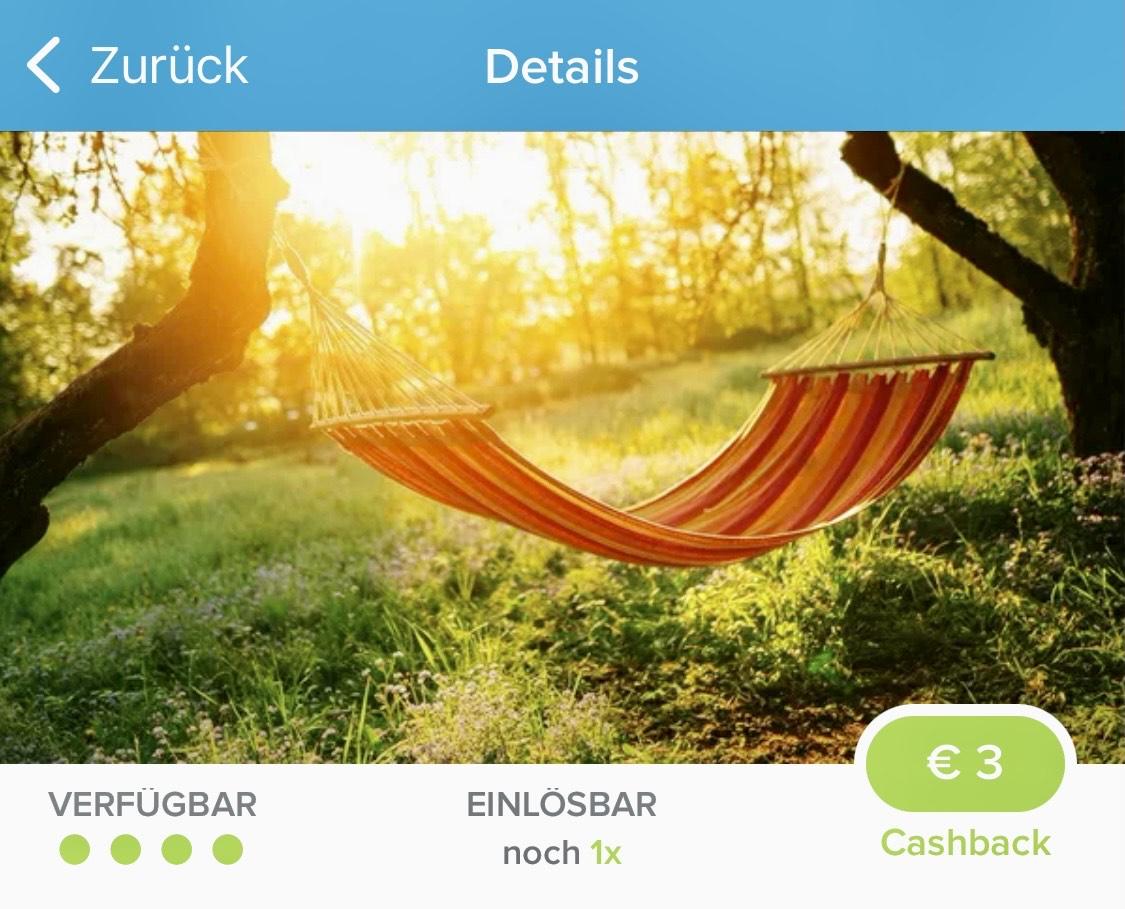 [Marktguru] Hängematte Cashback von 3€