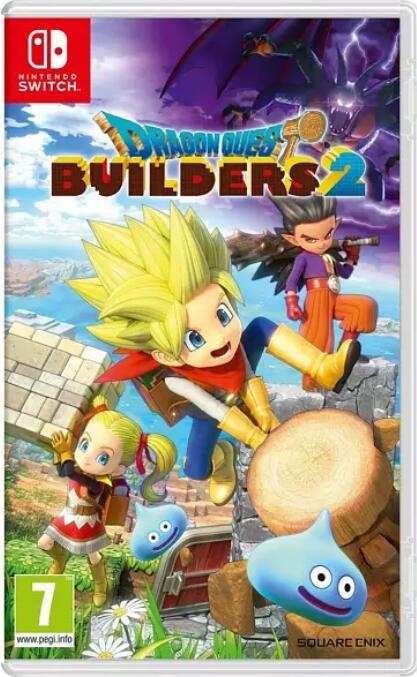 """Dragon Quest Builders 2"" um 27€ oder ""Dragon Quest Builders"" um 24€ bei Media Markt. (Nintendo Switch)"