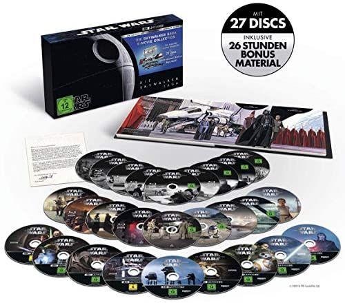 Star Wars Episode 1 bis 9 - Die Skywalker Saga (4K Ultra HD)
