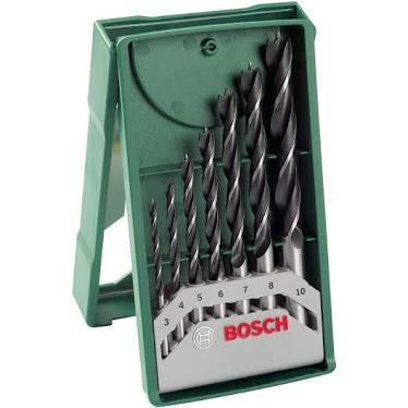 Bosch 7tlg. Mini-X-Line Holzbohrer-Set