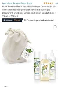 Dove Powered by Plants Geschenkset